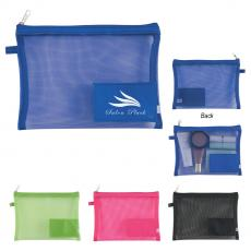 Travel / Toiletry Bags - Sheer Mesh Vanity Bag