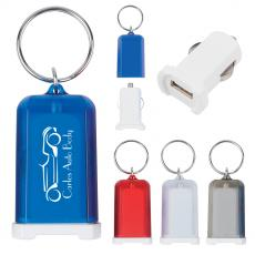 Cables & Adapters - Mini USB Car Charger Key Chain