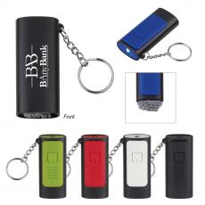 Plastic - Key Lights / Key Chains / Bottle Opener - Key Chain Light With Screen Cleaner