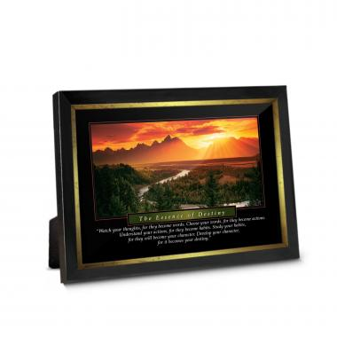Essence of Destiny Framed Desktop Print