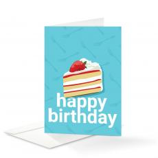 New Products - Cake Birthday Card 25 Pack