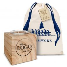 New Products - Logo Holiday Candle Gift Set