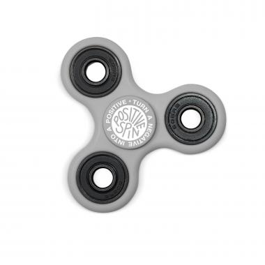 Positive Spin Fidget Spinner - Gray