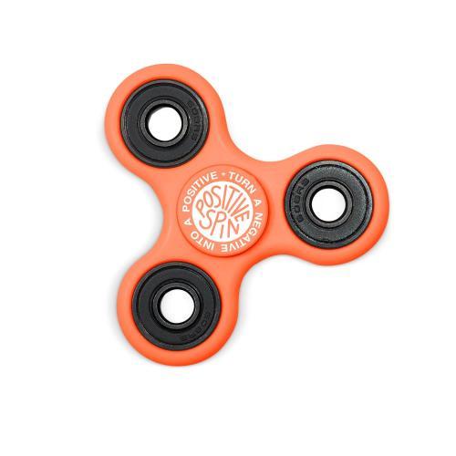Positive Spin Fidget Spinner - Orange
