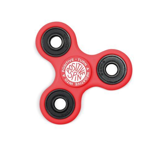 Positive Spin Fidget Spinner - Red
