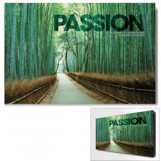 Modern Motivational Art - Passion Bamboo Path Motivational Art