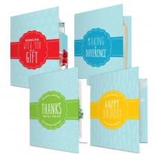 Gift Sets - Gourmet Cookie Card Variety 4 Pack
