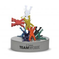 Employee Gifts - Teamwork Magnetic Clip Holder