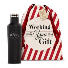 Holiday Gifts - Logo Corkcicle 16oz Canteen Holiday Gift