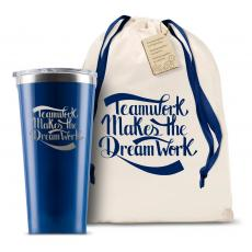 New Products - Corkcicle 16oz Tumbler Teamwork Dream Work