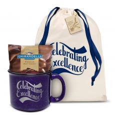 Candy & Food - Celebrating Excellence Camp Mug Gift Set