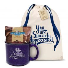 Candy & Food - Sincerely Appreciated Camp Mug Gift Set