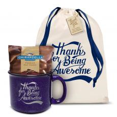 Candy & Food - Thanks for Being Awesome Camp Mug Gift Set