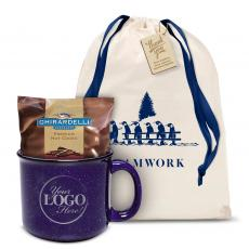 Candy & Food - Teamwork Ceramic Camp Mug Set Logo