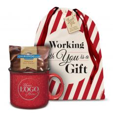 Candy & Food - Logo Ceramic Camp Mug Holiday Gift Set