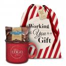 Logo Ceramic Camp Mug Holiday Gift Set