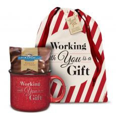 Candy & Food - Ceramic Camp Mug Holiday Gift Set