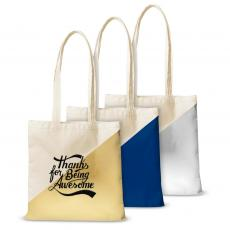 Canvas Tote - Thanks for Being Awesome Script Canvas Tote