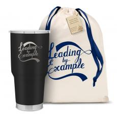 Personalized - The Big Joe - Leading by Example 30oz. Stainless Steel Tumbler
