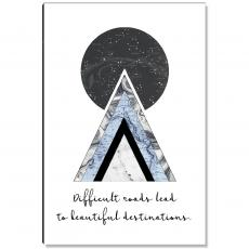 New Products - Difficult Roads Inspirational Art