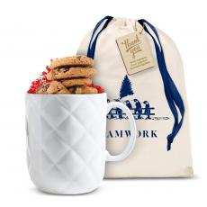 Candy & Food - Tuft & Stuffed Ceramic Teamwork Gift Mug Set