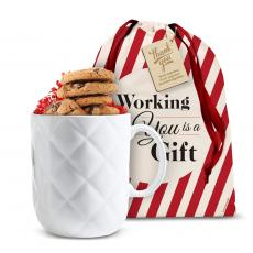 Candy & Food - Tuft & Stuffed Ceramic Holiday Gift Mug Set