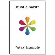 Studious Studio - Hustle Hard Geometry Inspirational Art