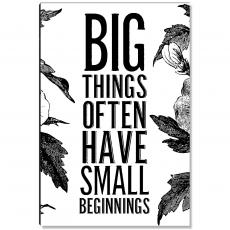 New Products - Big Things Inspirational Art