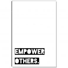 Workplace Wisdom - Empower Others Inspirational Art