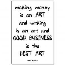 Workplace Wisdom - Making Art Inspirational Art