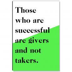 Workplace Wisdom - Successful Givers Inspirational Art