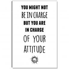 Workplace Wisdom - You Attitude Inspirational Art