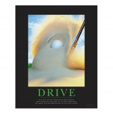 Closeout and Sale Center - Drive Golf Motivational Poster