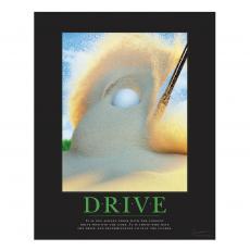 Motivational Posters - Drive Golf Motivational Poster