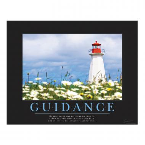 Guidance Lighthouse Motivational Poster