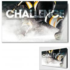 Modern Motivational Art - Challenge Hockey Motivational Art
