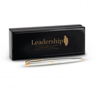 Marquis by Waterford Pen and Case-Leadership Eagle
