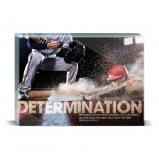 Modern Motivation - Determination Baseball Desktop Print