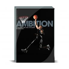 Modern Motivation - Ambition Basketball Desktop Print