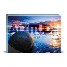Modern Motivation - Attitude Boulder Desktop Print