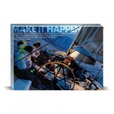 New Products - Make It Happen Sailboat Desktop Print