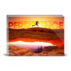 Modern Motivation - Persistence Runner Desktop Print