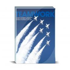 New Products - Teamwork Jets Desktop Print