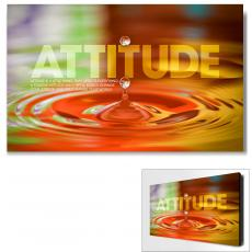 Attitude - Attitude Rainbow Drop Motivational Art