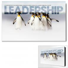 Leadership Posters - Leadership Penguins Motivational Art