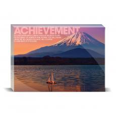 Modern Motivation - Achievement Sailboat Desktop Print