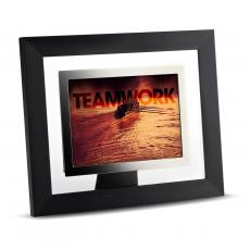 Desktop Motivation - Teamwork Rowers Infinity Edge Framed Desktop