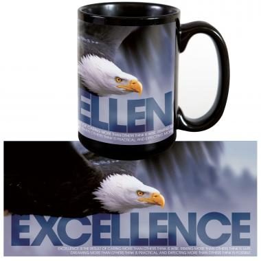 Excellence Eagle 15oz Ceramic Mug
