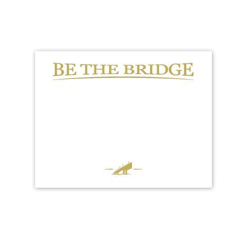 Be The Bridge Gold Foil Certificate Paper