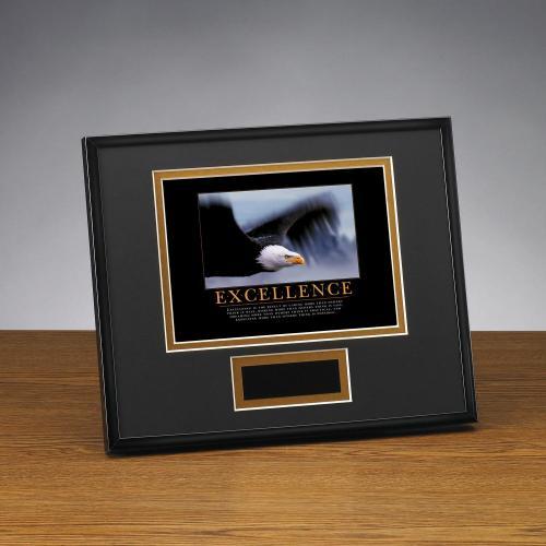 Excellence Eagle Framed Award